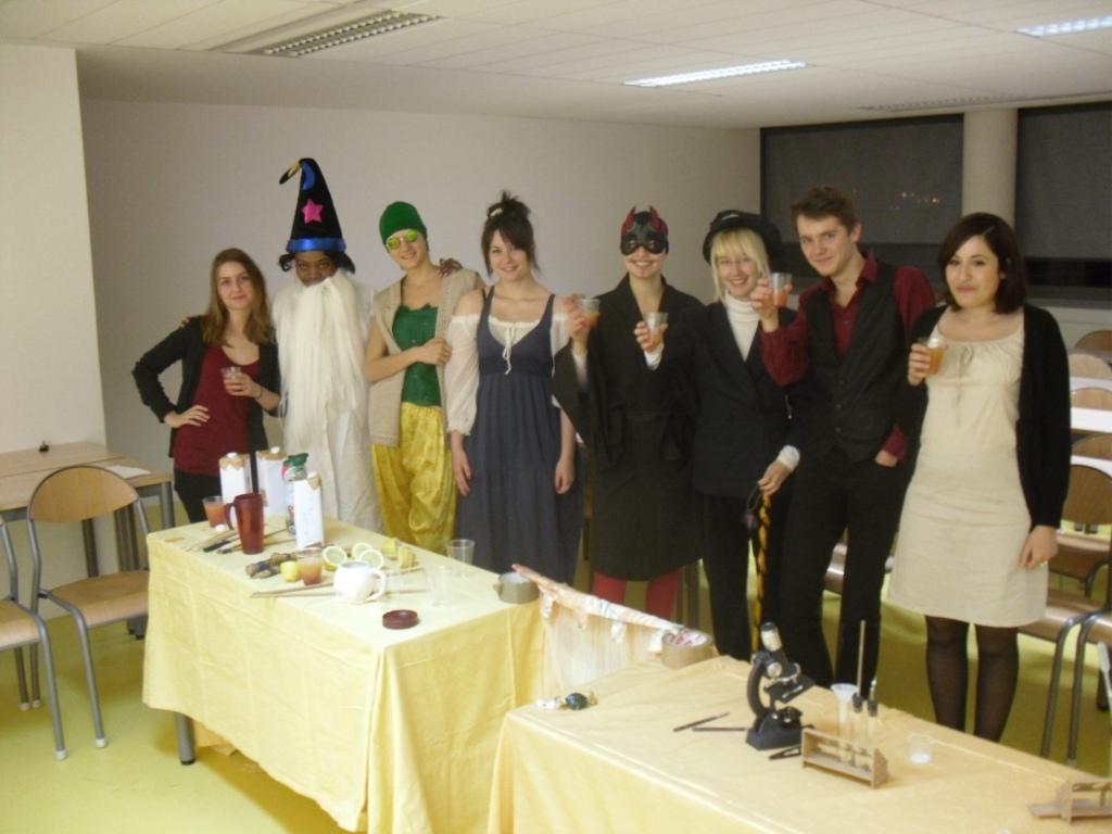 Séance de travail de l'atelier au 1er semestre 2011/12